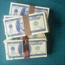 80 шт./лот красочные банкноты из США 100 или 500 долларов банкнот банковский предродитель деньги поддельные деньги за подарки