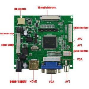 Yqwsyxl Новый ЖК-дисплей экран 7 дюймов 1024*600 7300101463 E231732 TFT 50 контактов монитор драйвер платы 2AV HDMI VGA