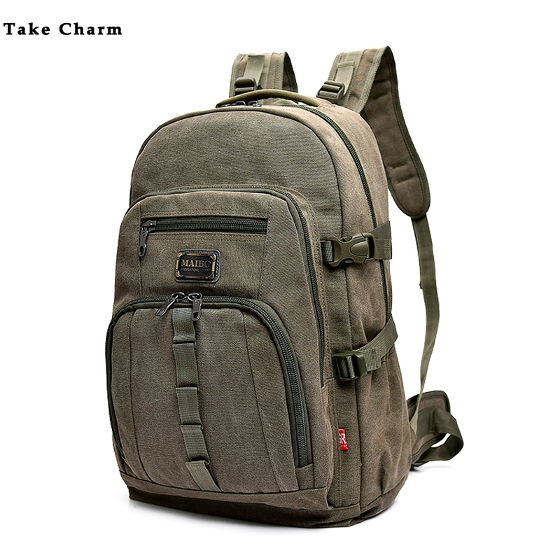 Leisure Canvas Travel Backpack 2019 High Quality Large Capacity Men Outdoor Mountaineering Bag Male Backpack Luggage School Bag