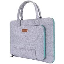 Wool Felt Laptop Sleeve Handle Notebook Computer Carrying Case Bag Pouch Compatible with Acer ASUS Dell HP Lenovo Toshiba new brand 11 6 laptop case denim notebook bag for toshiba satellite nb15t a1302 11 6 tablet handle carrying sleeve portfolio