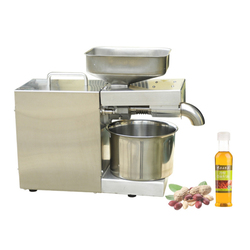 Stainless Steel Oil Press machine Household Peanut Olive oil Extractor Oil Presser