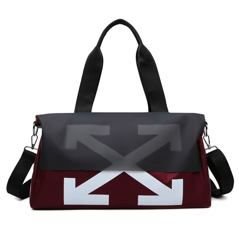 Yoga Bag Travel Crossbody Bag Zipper Mochila Gym Tas Training Bag Gymsack Sports Bags For Fitness Waterproof Gym Bags Women Men