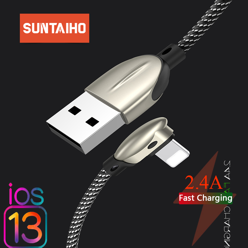 Suntaiho for iphone Charger Cable Game USB Cable for Lighting Fast Charging for iPhone 7 Xs Max XR X 6 6s 5 8 7 phone Game Cord|Mobile Phone Cables|   - AliExpress