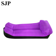 Outdoor Inflatable Air Sofa Holiday Seaside Beach Water Lazy Bone Sofa Wild Sleeping Bag Outdoor Seating Garden Furniture