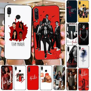 FHNBLJ How to Get Away with Murder Phone Case For Redmi note 8Pro 8T 6Pro 6A 9 Redmi 8 7 7A note 5 5A note 7 case image