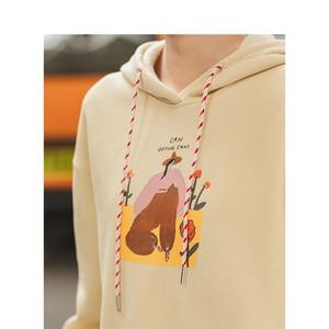 Image 4 - INMAN Autumn Winter Hoodies Women Pullover Cotton Printed Sweatshirts and Hoodies