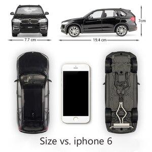 Image 2 - WELLY Coche de juguete fundido a presión a escala 1:24, BMW X5, modelo de simulación clásica, SUV, coche de juguete de aleación de Metal para niños, colección de regalos