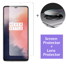 2-in-1 Camera Tempered Glass for oneplus 7t 7 pro Screen Protector for Lens Glass On oneplus 7t 7 6t