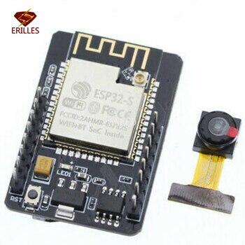ESP32CAM OV2640 WiFi + Bluetooth ESP32-CAM модуль серийный к WiFi ESP32 CAM макетная плата