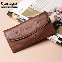 Cobbler Legend Diamonds Patchwork Genuine Leather Wallet Birthday Gift For Women Purse Clutch Bag Designers Brand