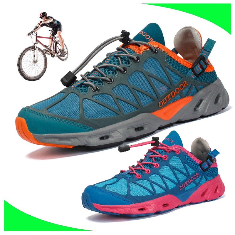 Men And Women Cycling Shoes Road Bike Shoes Mountain Bike Bicycle MTB Shoes Reflective Cycle Sneaker Triathlon Racing Shoes