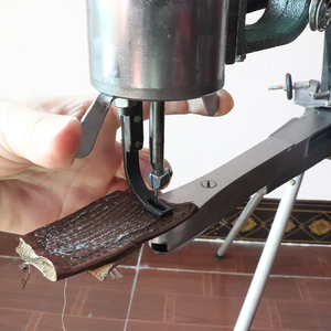 Image 5 - Manual Shoe Sewing Machine  Double cotton nylon thread leather Shoemaker manual sewing tools Shoe sewing machine