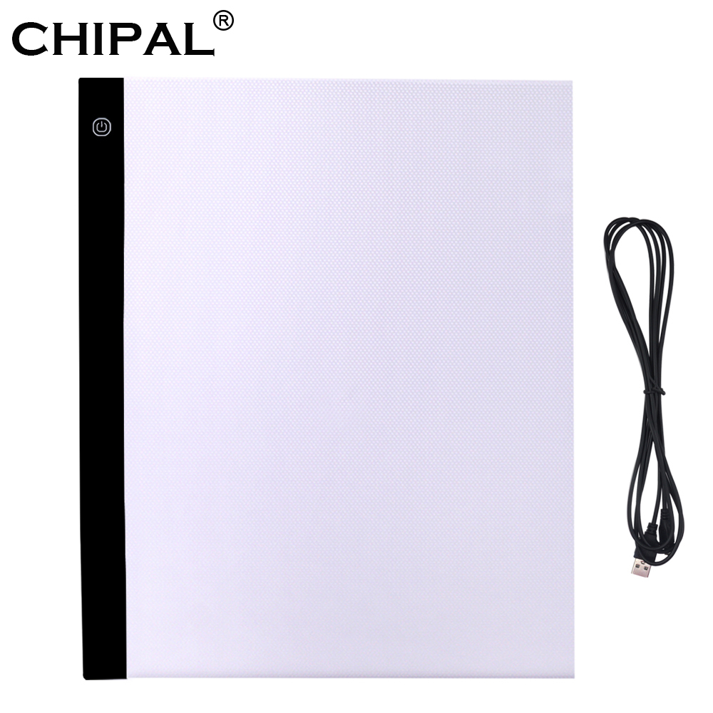 CHIPAL A3 LED Light Pad Graphic Tablets Artcraft Tracing Light Box Copy Board Painting Writing Drawing Tablet Sketching Panel
