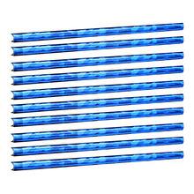 10 sztuk akcesoria samochodowe Auto kolorowe klimatyzator dekoracja do wylotu powietrza pasek wylot klimatyzacji pasek dekoracyjny tanie tanio CN (pochodzenie) Decorative Strips 10pcs Car Air Conditioning Vent Decorative Strips 20cm