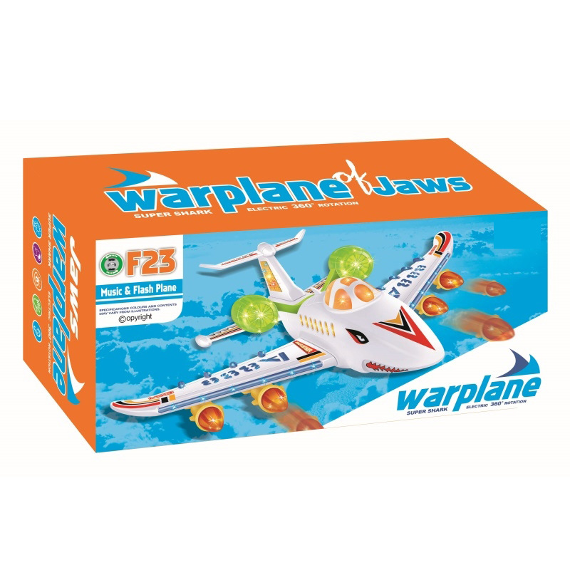 Electric Universal Light Helicopter Airplane Children Aviation Model Shining Airplane Educational Toy
