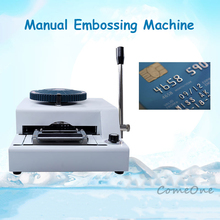 Convex Code Printer Druk Code Code Machine Vip Lidkaart Schrijfmachine Pvc Handleiding Embossing Machine