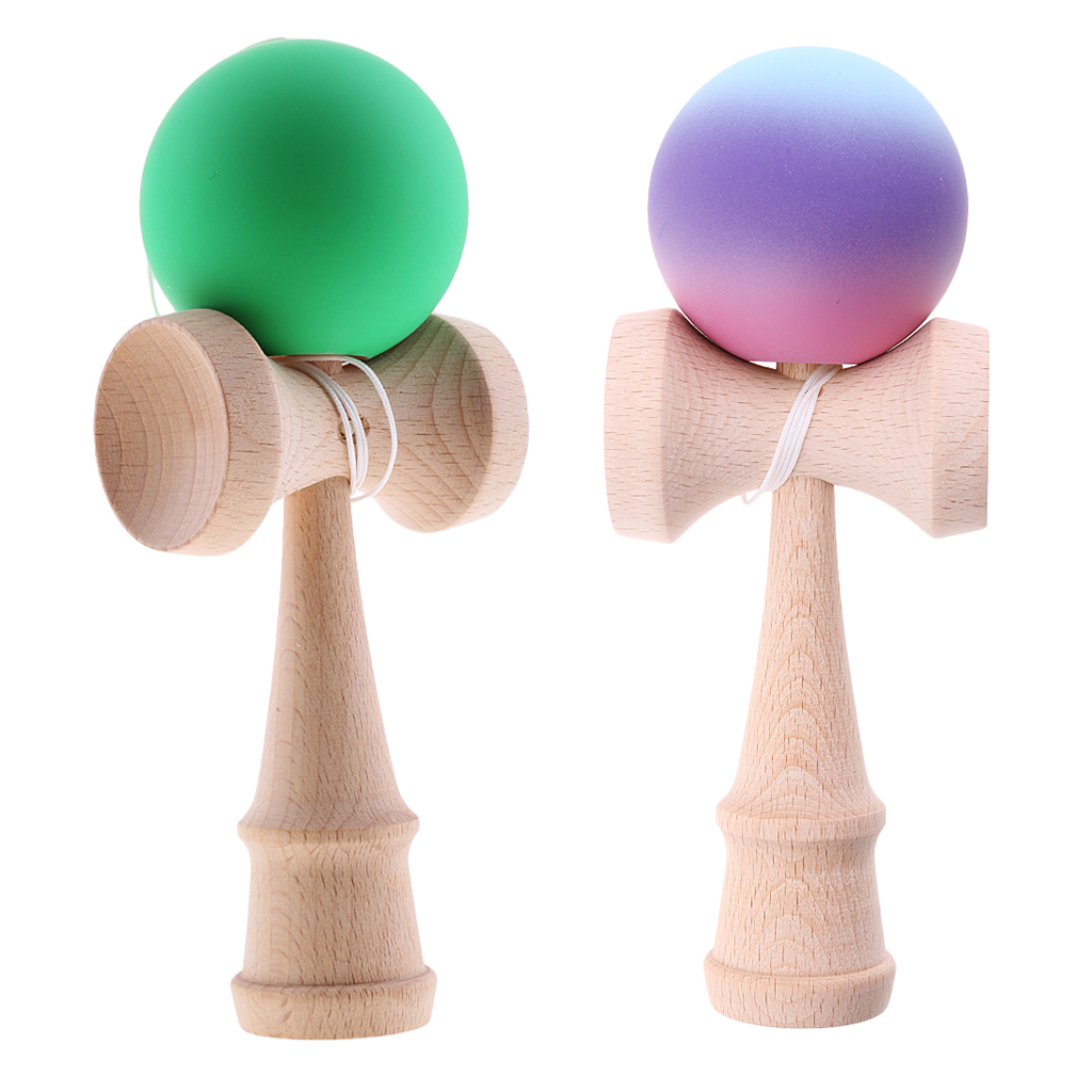 18cm Wooden Kendama Skillful Juggling Ball Toy For Children Adults Birthday Christmas Gift