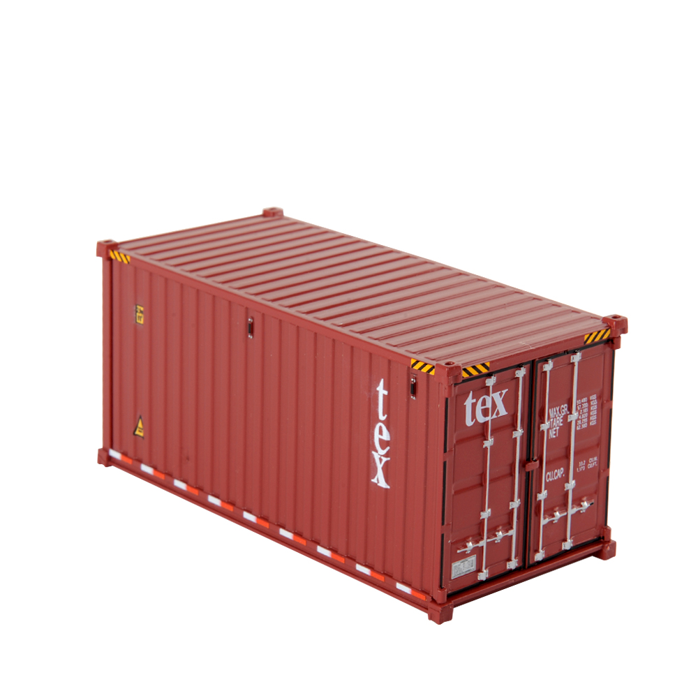 1/50 scale 20' Dry Goods Sea Container -Transport Series Diecast Masters Real Replicas Truck accessories model
