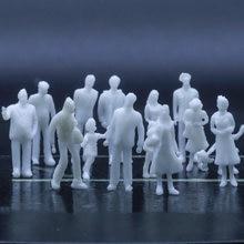 Модель игрушечная белая из АБС пластика 100/150/200 смешанное