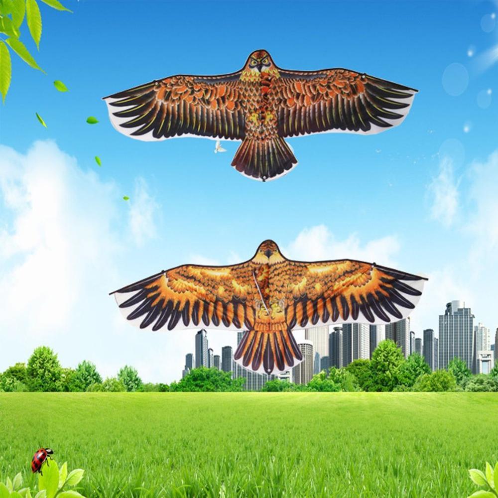 1.1m Huge Eagle Kite Novelty Eagle Kites Children Flying Bird Kites  Easy Control Family Outdoor Toys Best Gift For Children's