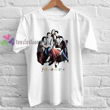 friends tv show Tshirt gift adult unisex custom clothing Size S-3XL buy cheap image