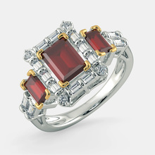 Exquisite Silver Princess Cut Red Zircon Engagement Ring Bridal Wedding Band Anniversary Jewelry Lover's Gifts Accessories exquisite gold princess cut white zircon wedding ring bridal engagement ring anniversary jewelry birthday christmas gifts