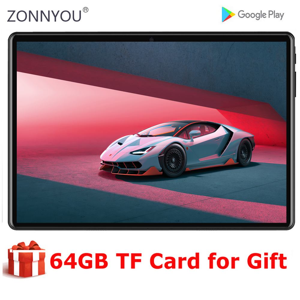 New Global 5G Wifi Tablet 10 inch Octa Core Android 9.0 3GB RAM 32GB HD Screen Dual Cameras 4G LTE Phone Tablet GPS Wifi Pad