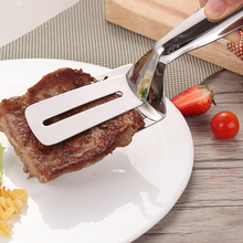 Steak-Clip Barbecue Kitchen Stainless-Steel Serrated Cookice New Pancake