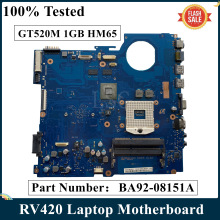 Laptop Motherboard BA92-08151A BA41-01610A Samsung HM65 RV420 for Ba92-08151a/Ba92-08151b/Ba41-01610a/..