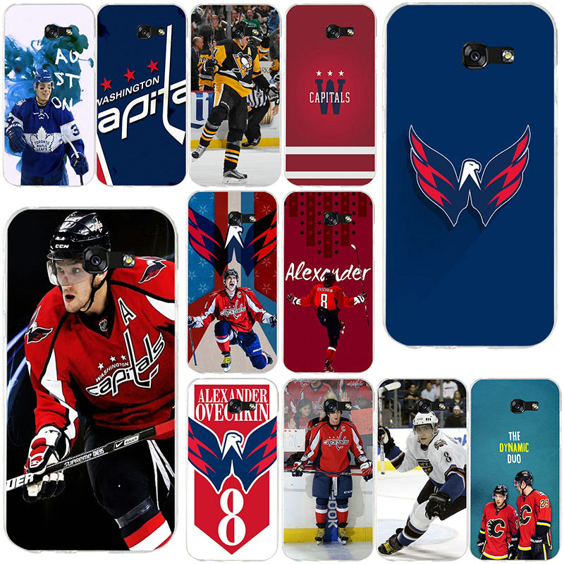 Alexander Ovechkin Hockey Soft TPU Silicone Mobile Phone Cases for Samsung Galaxy A3 A5 A7 J1 J2 J3 J5 J7 2016 2017 Coque Shell(China)