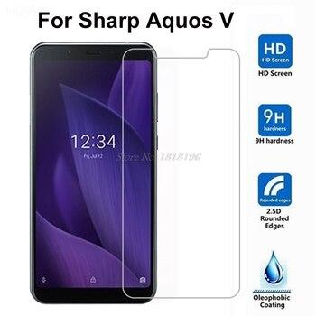 Перейти на Алиэкспресс и купить 2 шт Высокое качество 9H острый Aquos V закаленное стекло протектор экрана для Sharp Aquos V стеклянная Защитная пленка для экрана Aquos V SH-C02