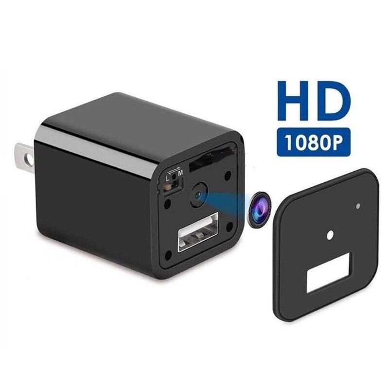 Bright Mini Plug Camera 1080p Hd Usb Chargers Wireless Portable Camera Security Video Recorder Dynamic Monitor