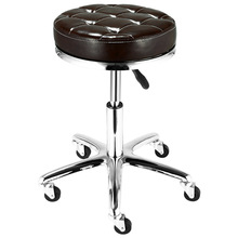 Furniture Chair Stool Lift Bar Hairdressing-Swivel Facial-Massage Tattoo Spa Adjustable