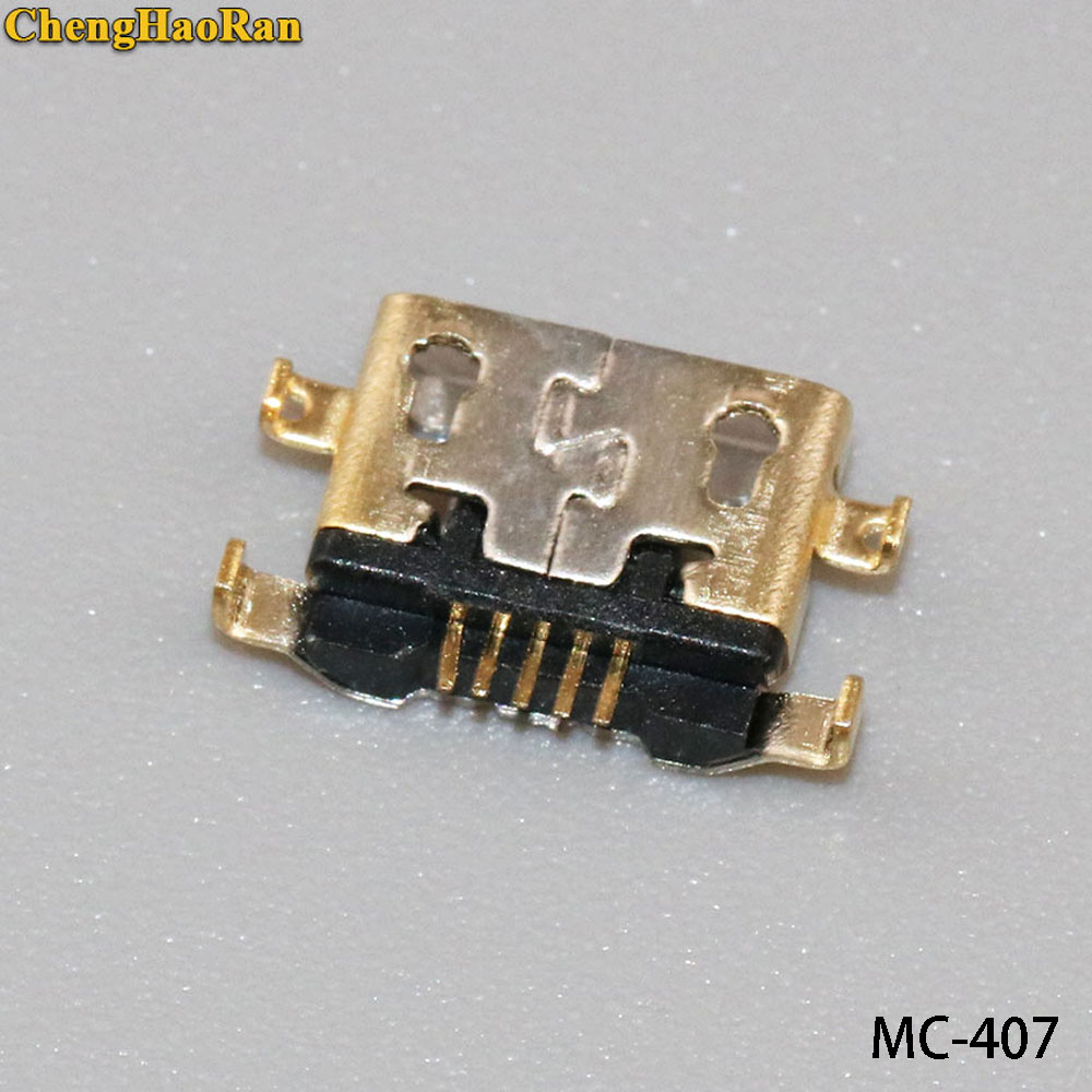 1PCS/lot For <font><b>Alcatel</b></font> <font><b>6035R</b></font> Idol S 4033 4033D micro usb charge charging connector plug dock socket charger port Repair Part image