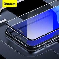 Baseus 0.3mm protetor de tela para iphone 11 pro xs max x xr capa completa vidro temperado película protetora para iphone 11 proteção|Protetores de tela de telefone| |  -