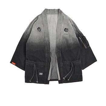 Mens Streetwear Denim Jacket