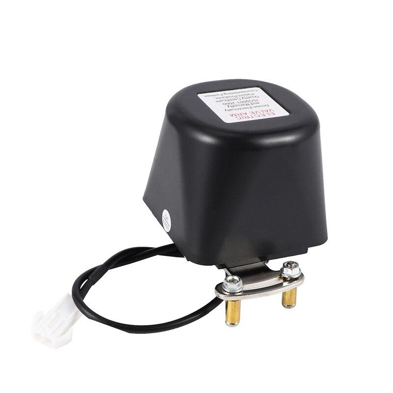Dc8V-Dc16V de seguridad automática del manipulador de la válvula de cierre para el cierre de la alarma de la tubería de agua de Gas Dispositivo de seguridad para la cocina y el baño Válvula de cierre de Manipulador automático de DC8V-DC16V para alarma, dispositivo de seguridad para tuberías de Gas y agua para cocina y baño