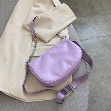 Нейлоновые карамельные сумки через плечо для женщин 2020 летняя