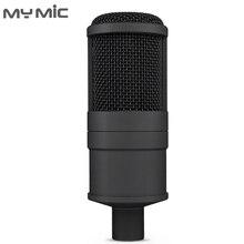 My Mic P200 profesjonalne Studio mikrofon pojemnościowy mikrofon do komputera