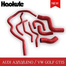 Hiệu Năng Tản Nhiệt Vòi Silicon Bộ Dụng Cụ Cho VW Golf GTI5 MK5 Turbo GTI 2.0/Audi A3 2.0 FSI/S3 TTMK2/Leon Cupra 2003 2009