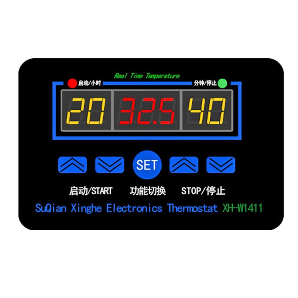 Digital Thermostat Temperature Humidity Controller High Precision Temperature Probe Single Chip Hygrometer Thermometer