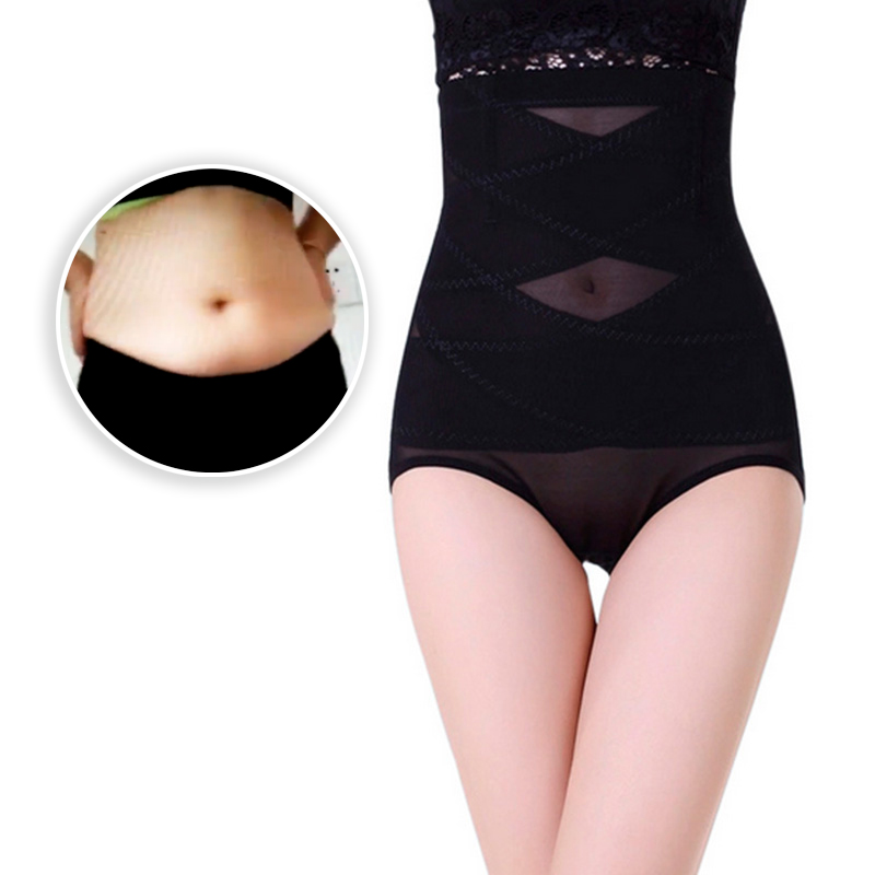 Women High Waist Trainer Body Shaper Panties Tummy Belly Control Body Slimming Control Shapewear Girdle Underwear Waist Trainer
