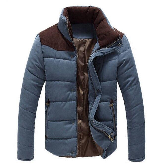 2019 Winter Jacket Men Warm Causal   Parkas   Cotton Coat Male Outwear Coat Men's Stand Collar Brand Thicken   Parka   Big Size M-4XL