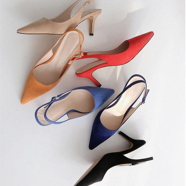 Женские туфли-лодочки на высоком каблуке 2