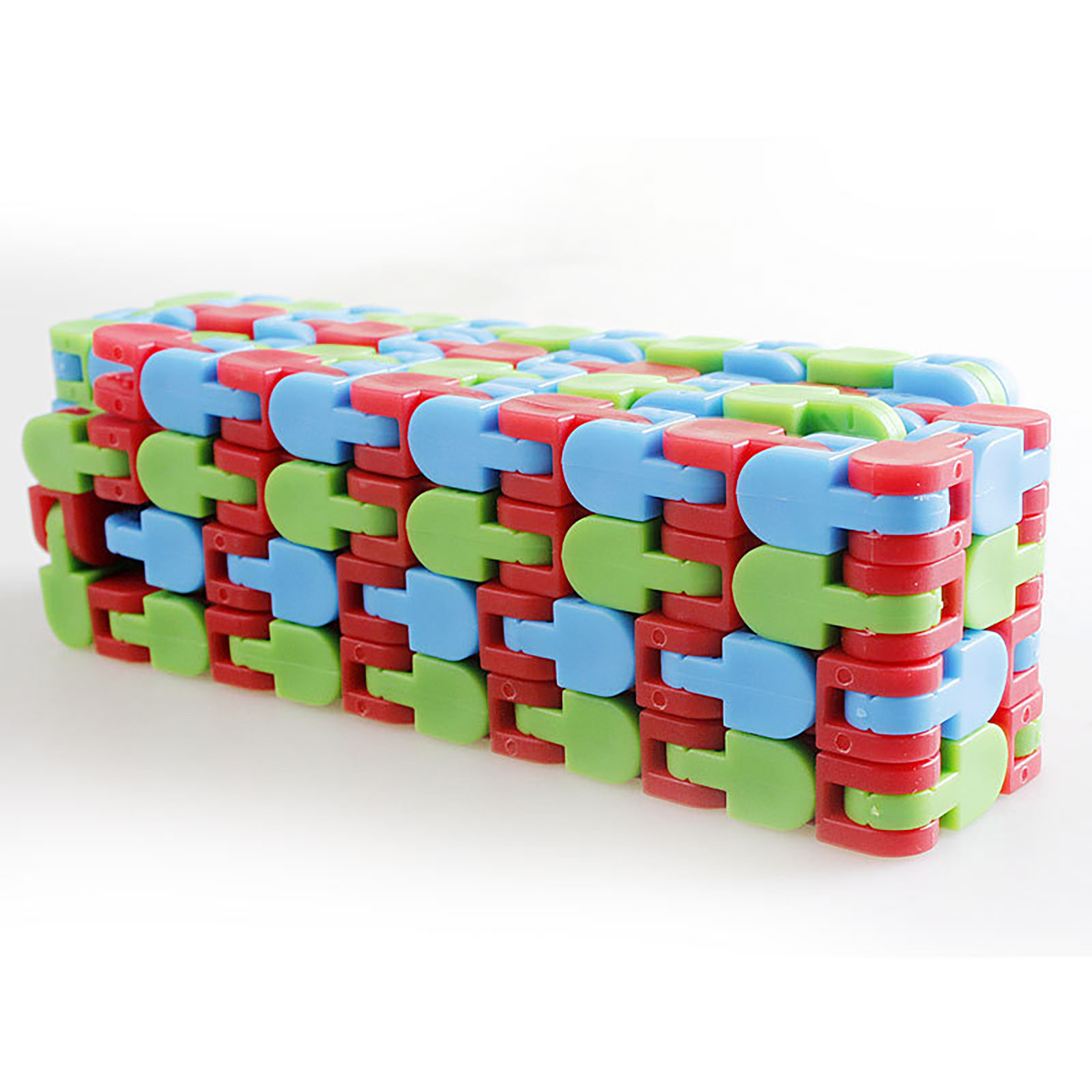 Puzzles Toys Wacky-Tracks Relief Stress Finger-Sensory Snake Fillers Snap Click And img4