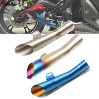 Universal Motorcycle Accessories Exhaust Pipe Muffler Escape Modified Exhaust System 37MM 51MM For BMW K1200R S1000XR K1600GTL