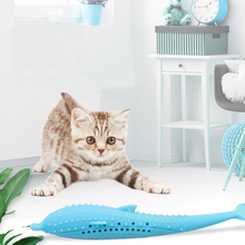 Pet Soft silicone Creative 3D  Fish Shape Cat Toy Gifts Catnip Fish Stuffed Simulation Fish Playing Toy For Pet недорого