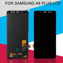 Catteny Replacement 6.0Inch A8 Plus LCD For Samsung Galaxy A730 LCD A8Plus A8+ 2018 Duos Display Touch Screen Digitizer Assembly цена в Москве и Питере