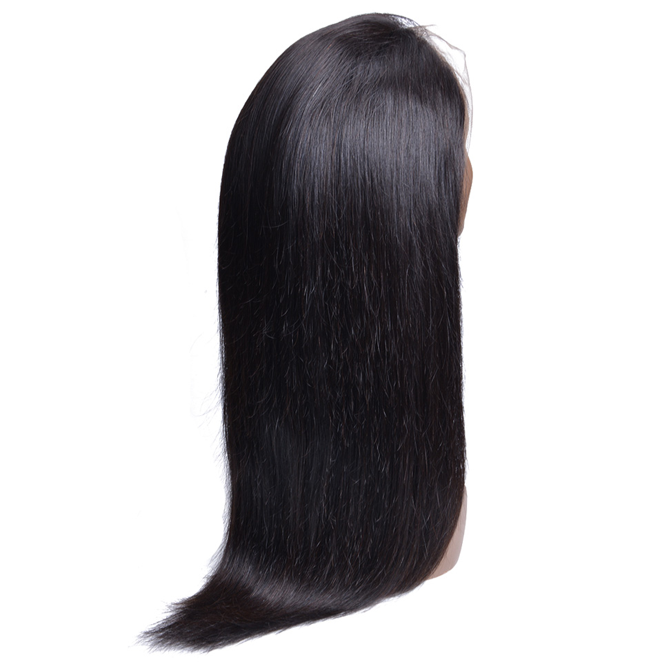 Brazilian Wig 13*4 Straight Lace Front Human Hair Wigs For Black Women Non Remy Human Hair Wigs Pre Plucked With Baby Hair