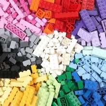 1000 шт набор базовых строительных кирпичей